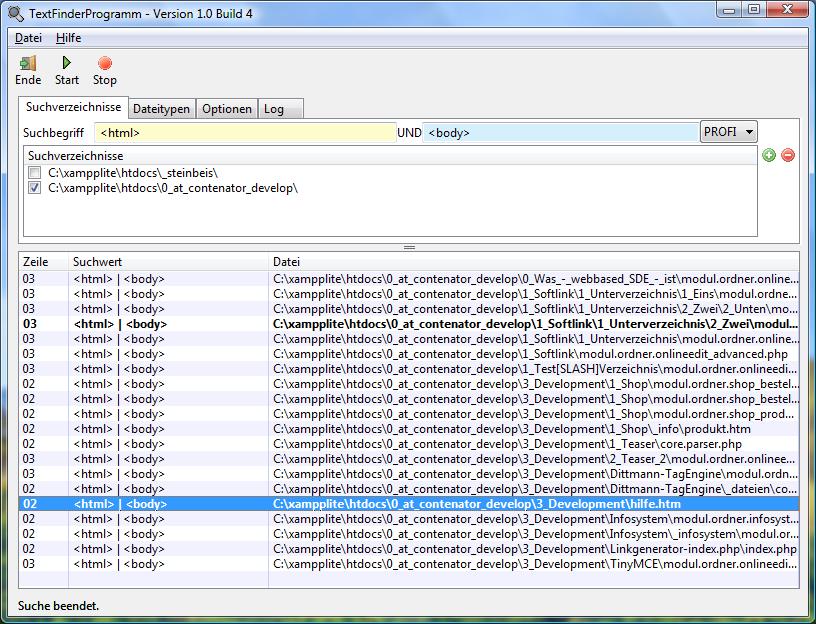 TextFinderProgramm
